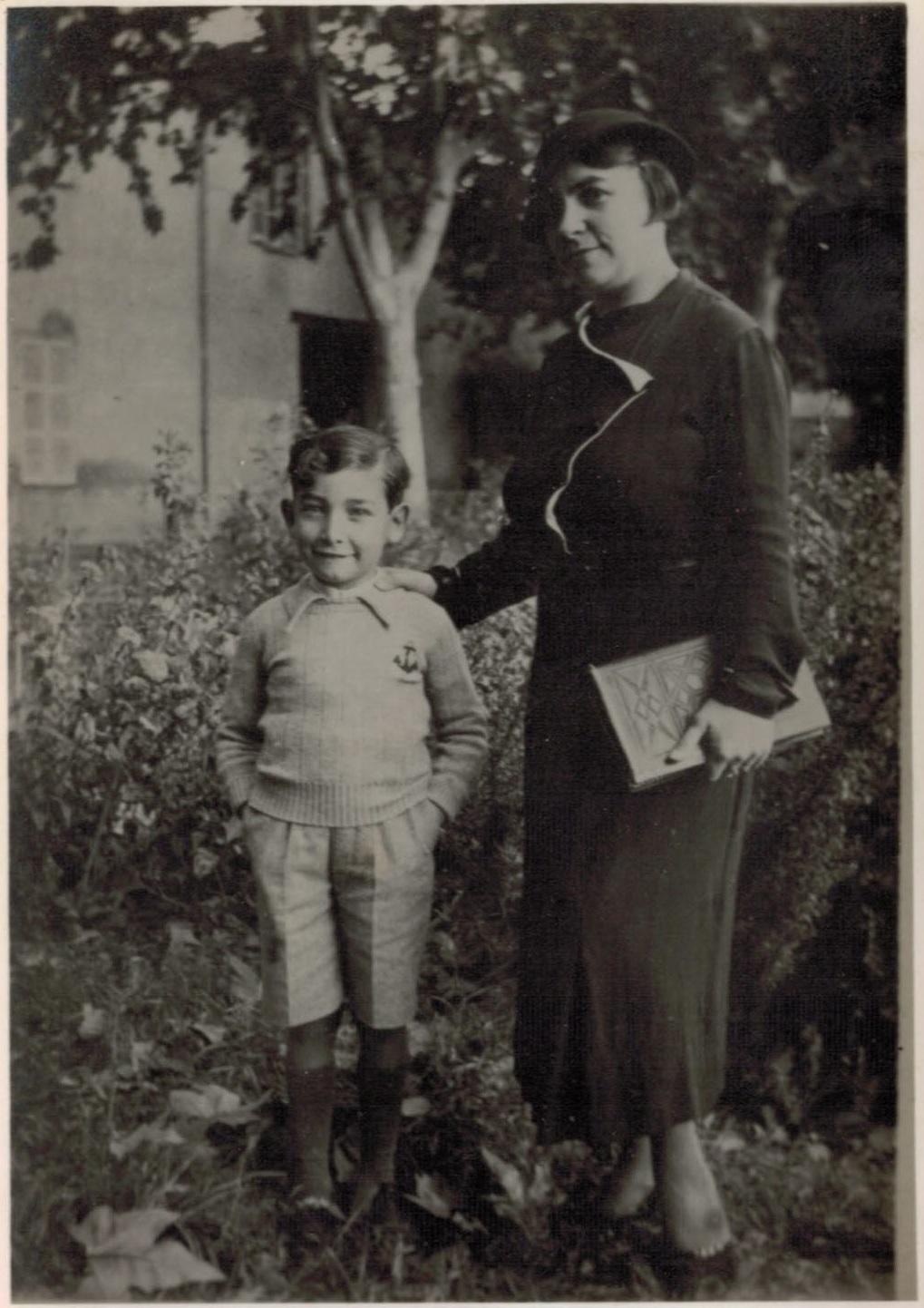 Famille Charles VAUTRIN 31 Octobre 1935