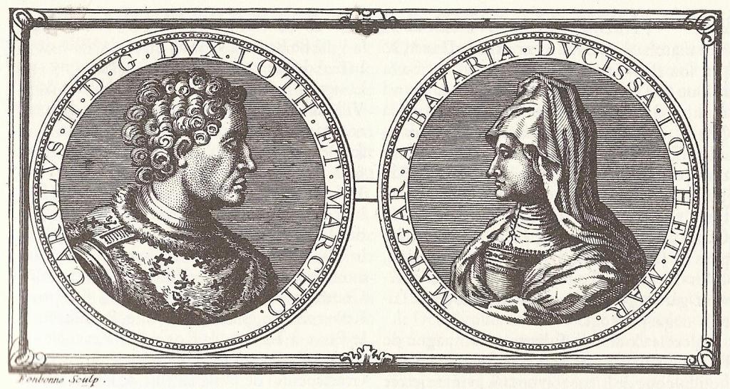 Charles II de Lorraine et Marguerite de Baviere