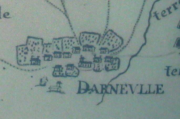 Darnieulles en 1753