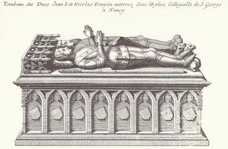 Tombeau Jean de Lorraine