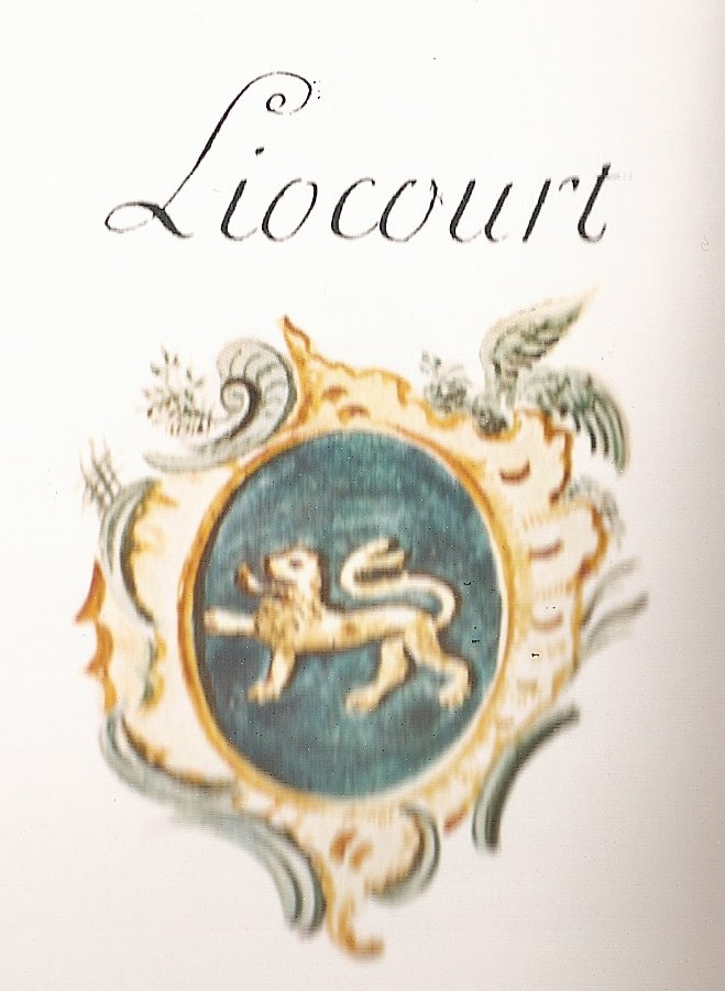 Armoiries Liocourt