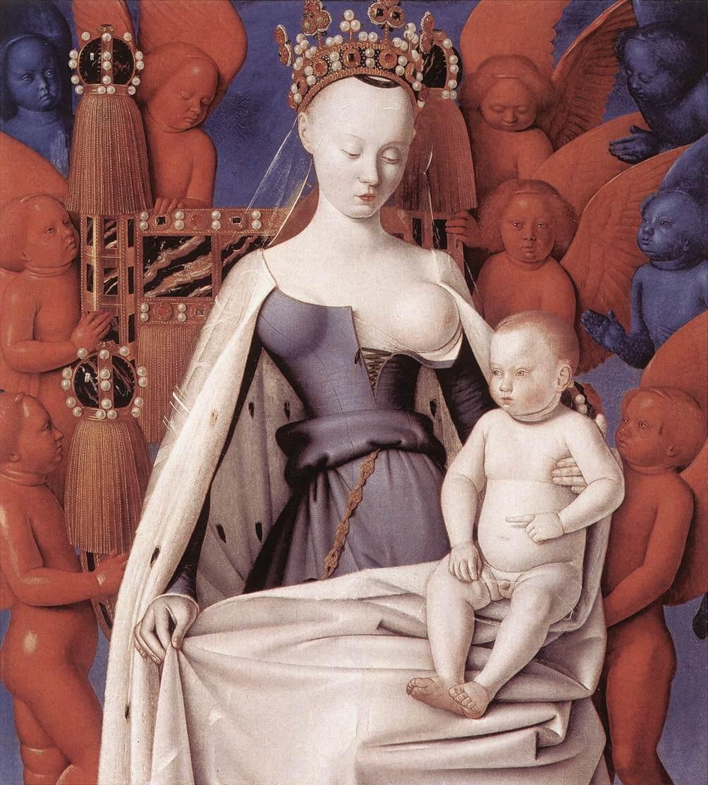 Vierge à l'enfant Notre-Dame de Melun