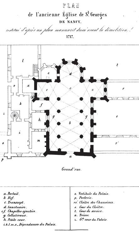 Plan Saint Georges